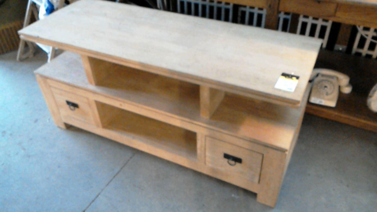 Meuble tv bois exotique 2 tiroirs d 39 occasion - Magasin meuble bois exotique ...